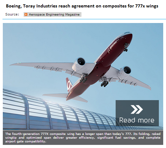Toray&Boeing Agreement