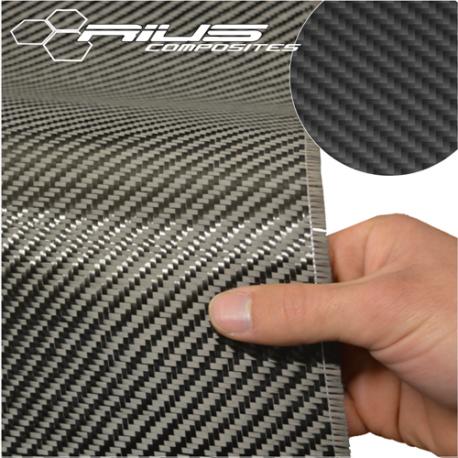 Tessuto fibra di carbonio twill 2/2 200g Toray 1m