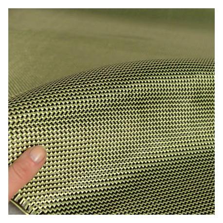 Carbon Fiber / Kevlar® Tessuto ibrido, 210gsm, tessuto da 2/2 twill 1mq