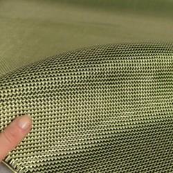 Carbon Fiber / Kevlar® Tessuto ibrido, 210gsm, tessuto da 2/2 twill 2mq