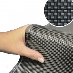 Tessuto fibra di carbonio plain 200g Toray 5m